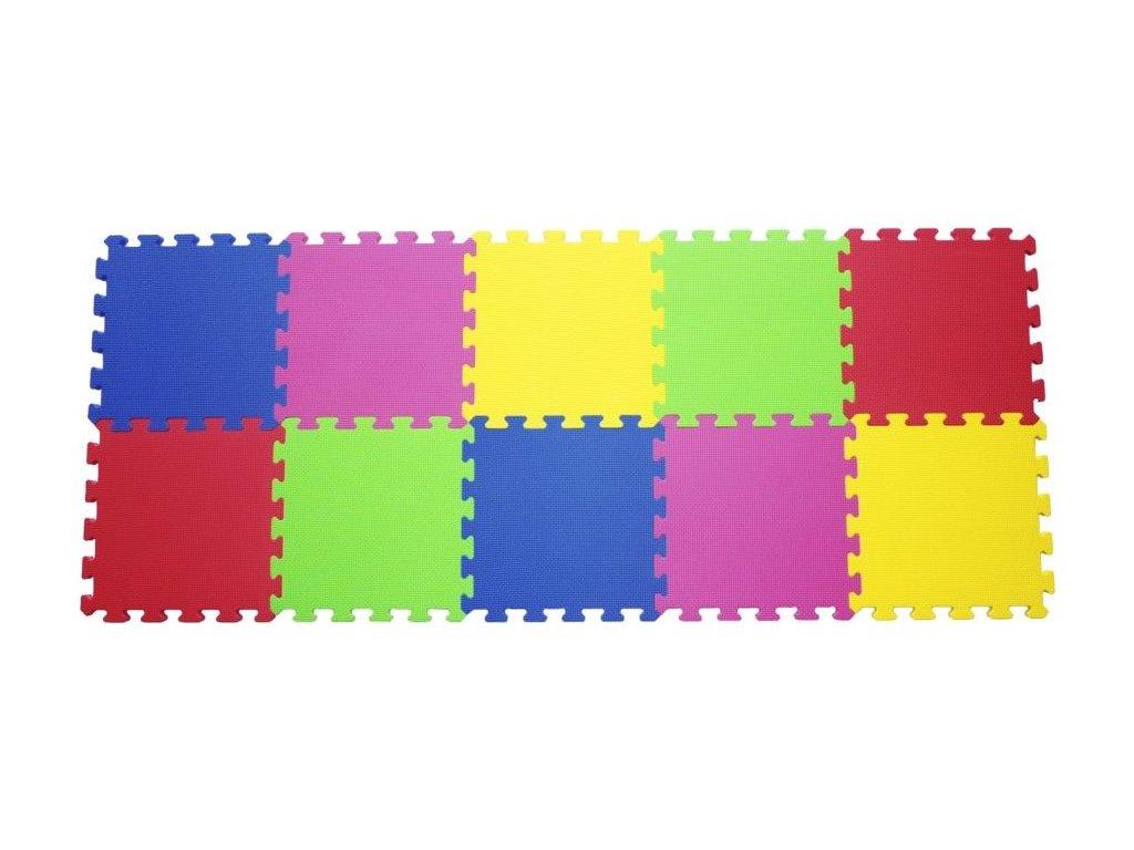 LC rozbalený obal: Pěnový koberec extra modrý 0+
