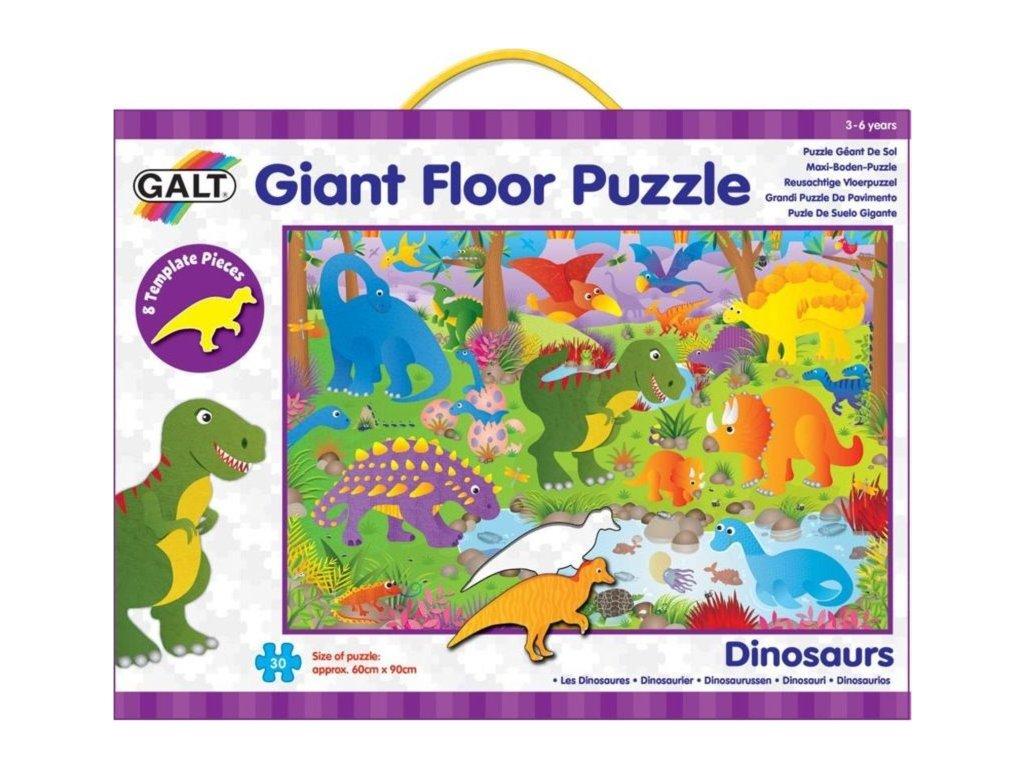 GALT Obří podlahové puzzle Dinosauři 30 dílků