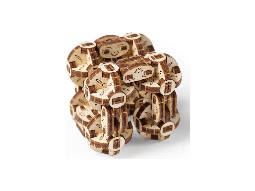 UGEARS 3D puzzle Flexi-kubus 144 dílků