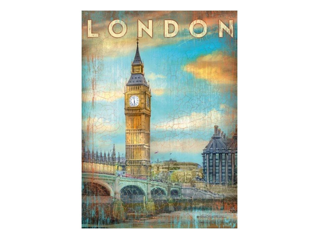 SCHMIDT Puzzle Londýn, Velká Británie 1000 dílků