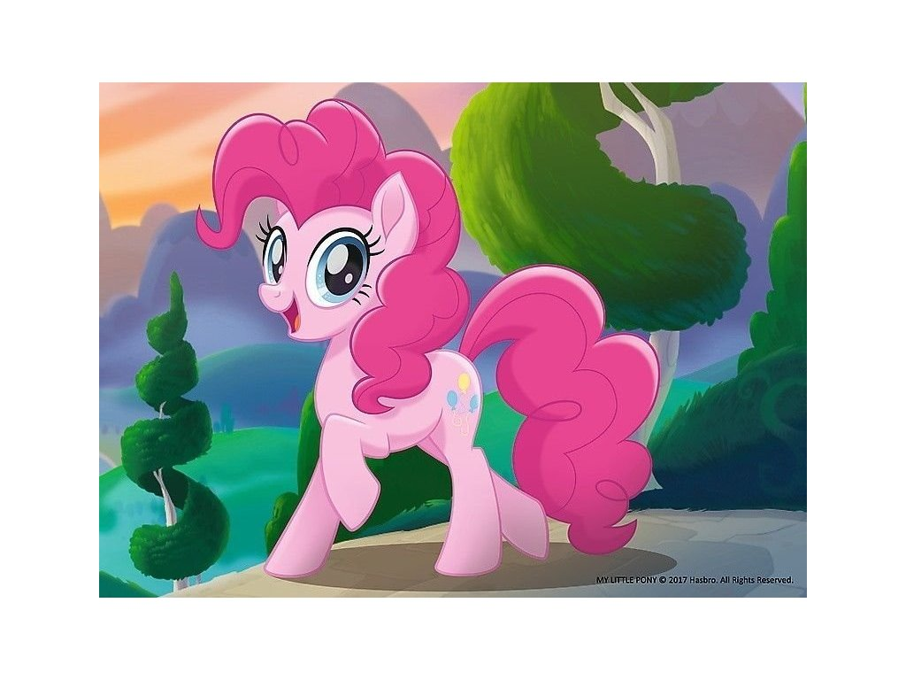 TREFL Puzzle My Little Pony: Pinkie Pie 20 dílků