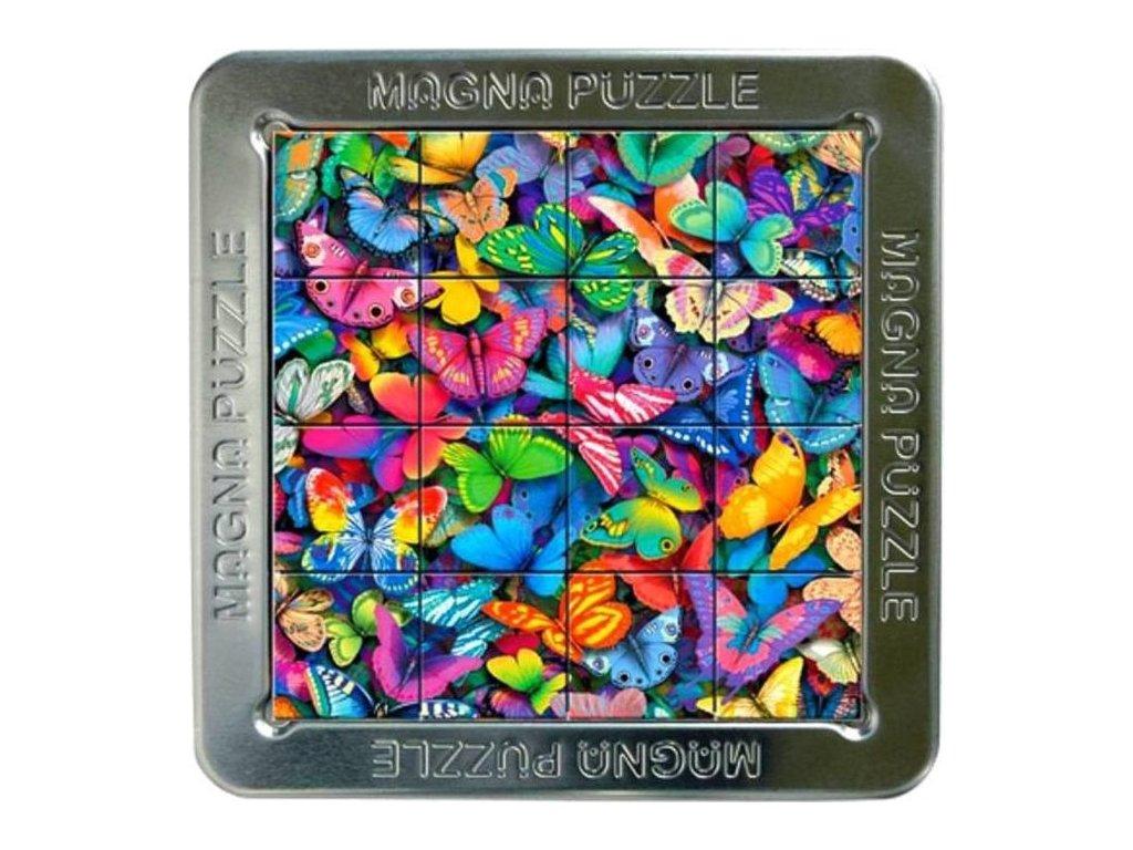 PIATNIK Magna 3D puzzle: Motýli 16 dílků