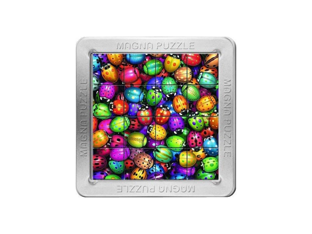 PIATNIK Magna 3D puzzle: Berušky 16 dílků