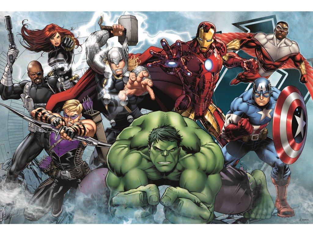 TREFL Puzzle Avengers: Do akce 100 dílků