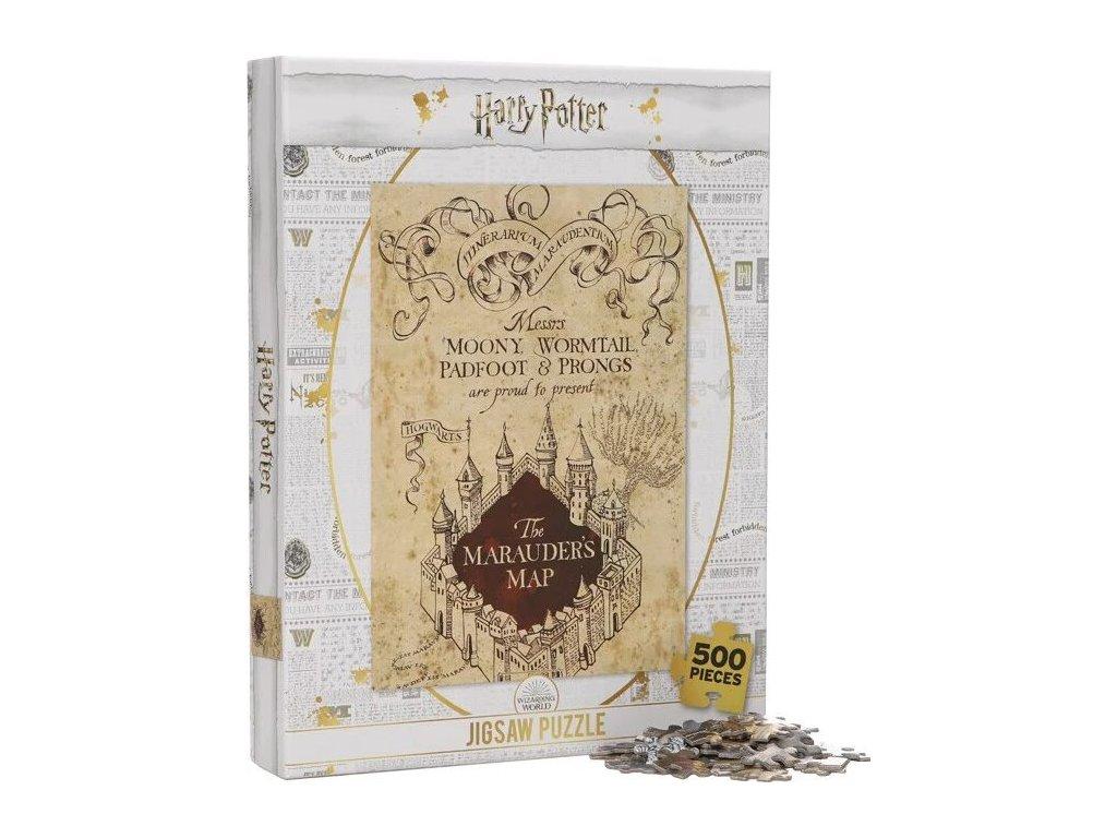 Puzzle Harry Potter: Pobertův plánek 500 dílků