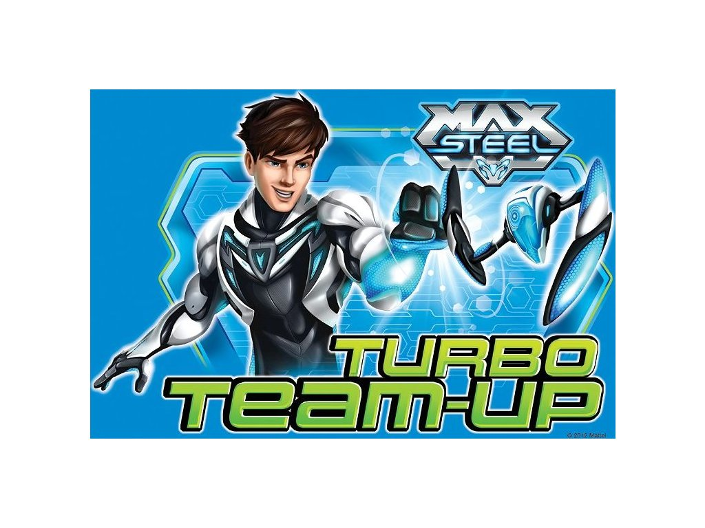 TREFL Puzzle Max Steel: Max útočí 160 dílků