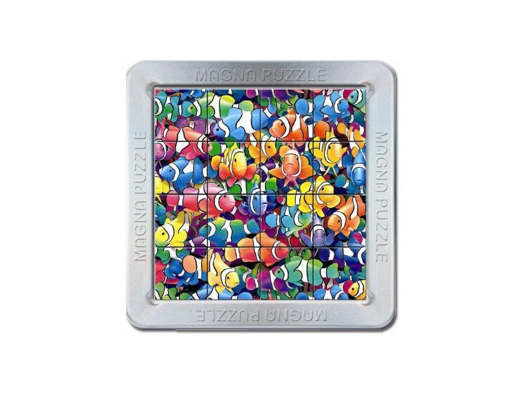 PIATNIK Magna 3D puzzle: Rybičky - klauni 16 dílků