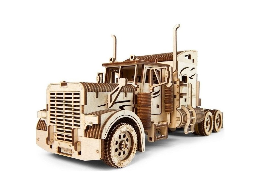 UGEARS 3D puzzle Heavy Boy kamion VM-03, 541 dílků