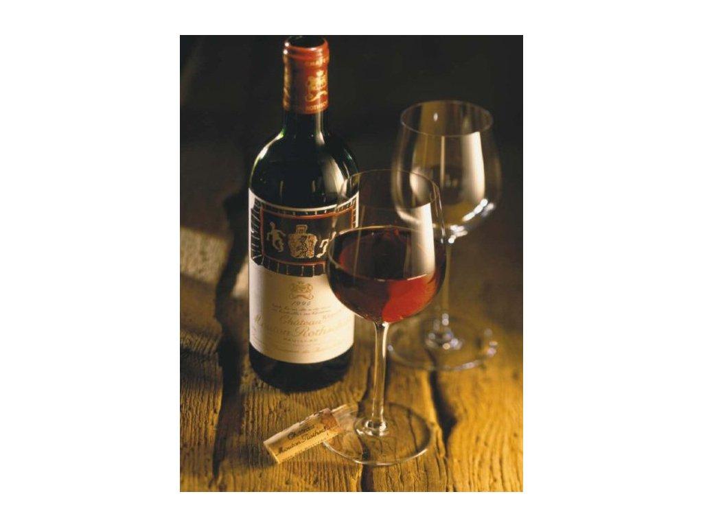 ZDEKO , TREFL Puzzle Zátiší - víno 1000 dílků