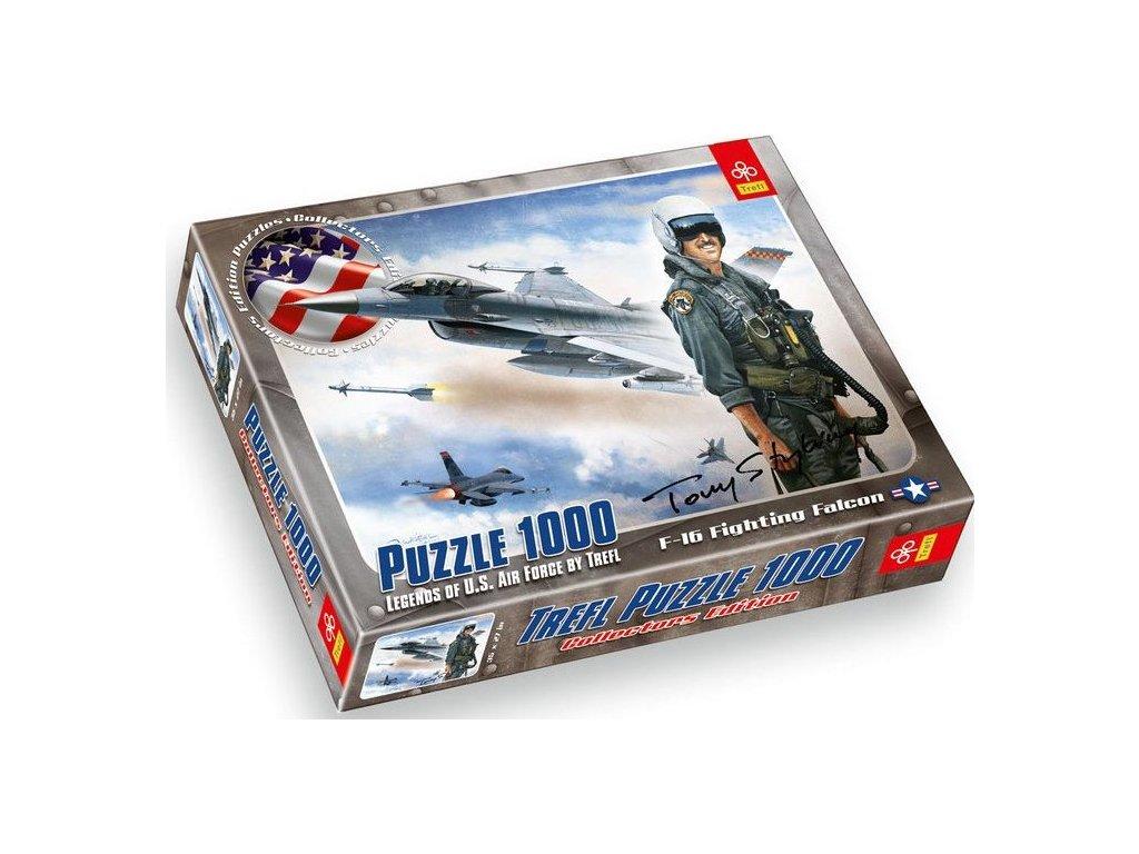 TREFL Puzzle F-16 Fighting Falcon 1000 dílků
