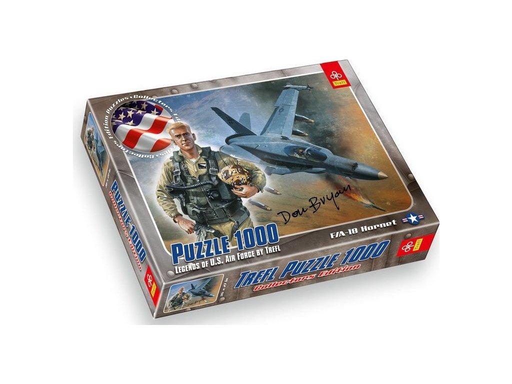 TREFL Puzzle McDonnell Douglas F,A-18 Hornet 1000 dílků