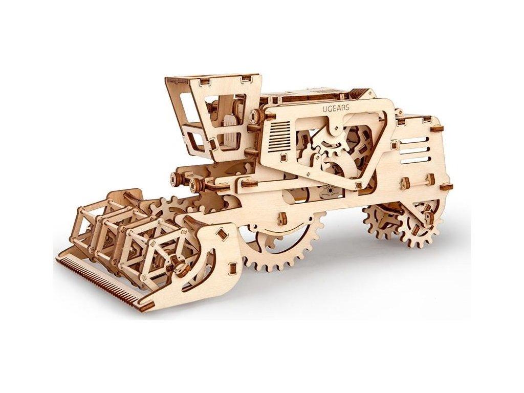 UGEARS 3D puzzle Kombajn 154 dílků