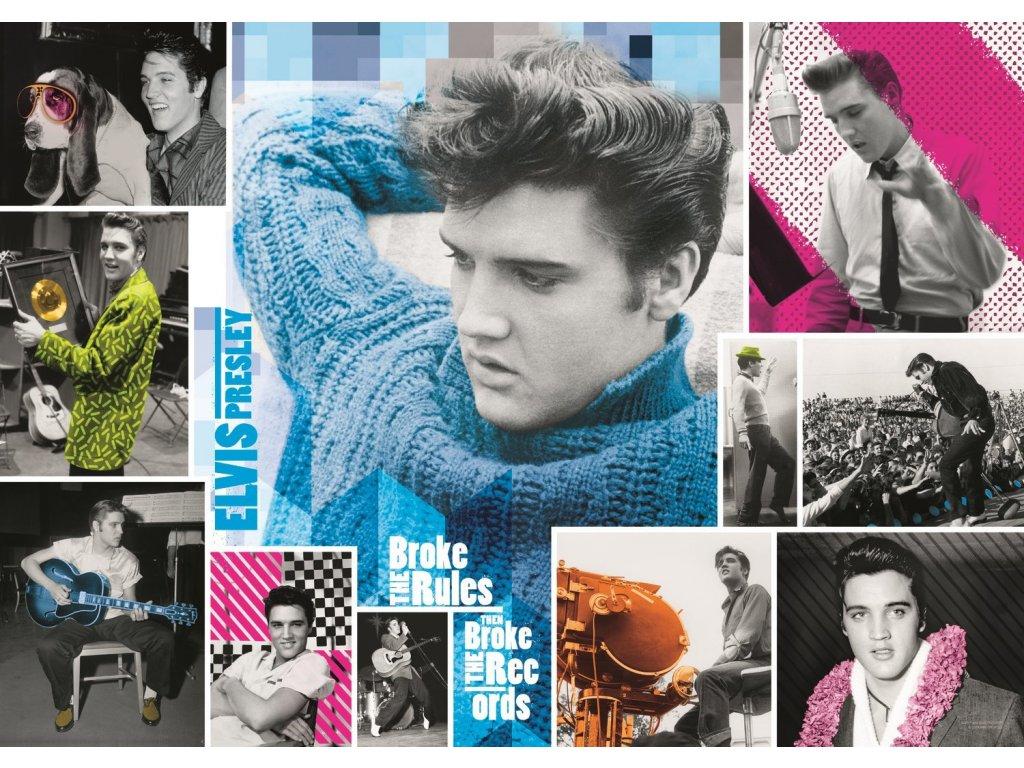 TREFL Puzzle Elvis Presley: Navždy mladý 1000 dílků