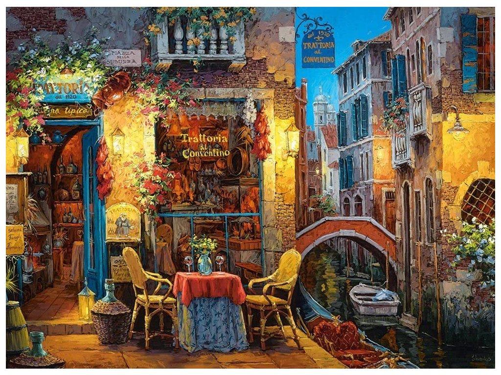 CASTORLAND Puzzle Naše místo v Benátkách 3000 dílků