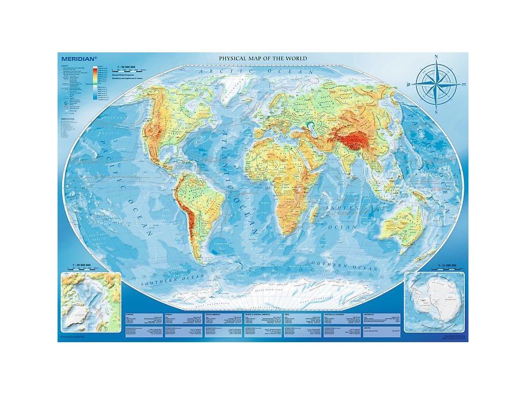 TREFL Puzzle Velká mapa světa 4000 dílků