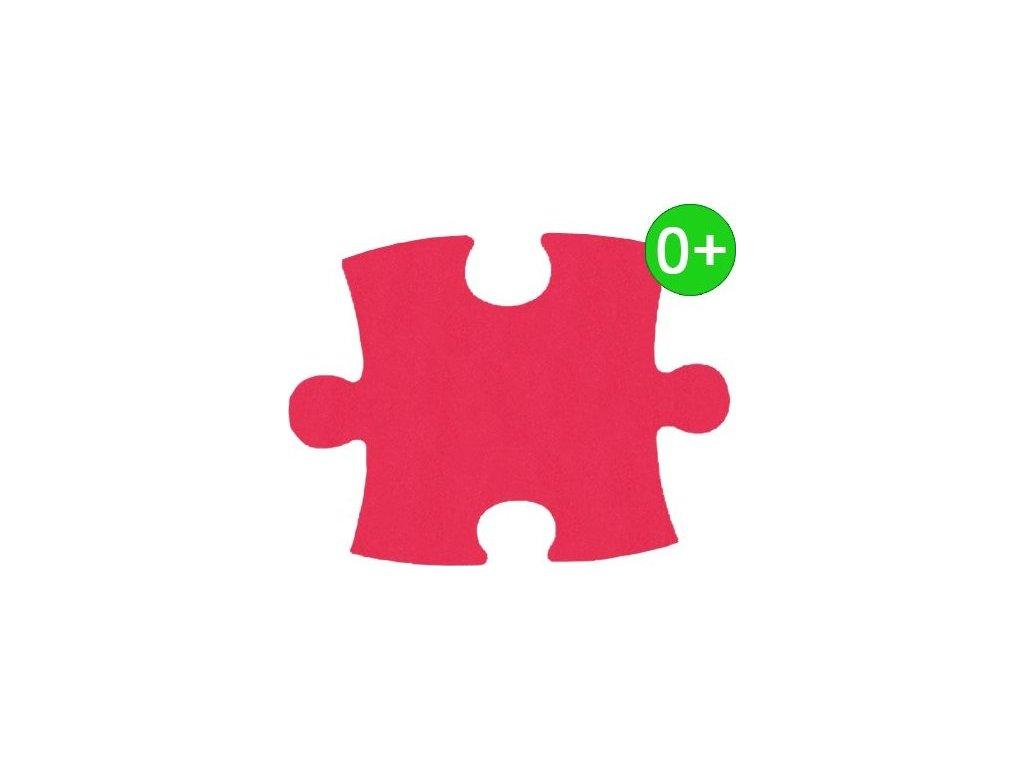 MALÝ GÉNIUS Samostatný díl KLASIK silný 0+ (červený)
