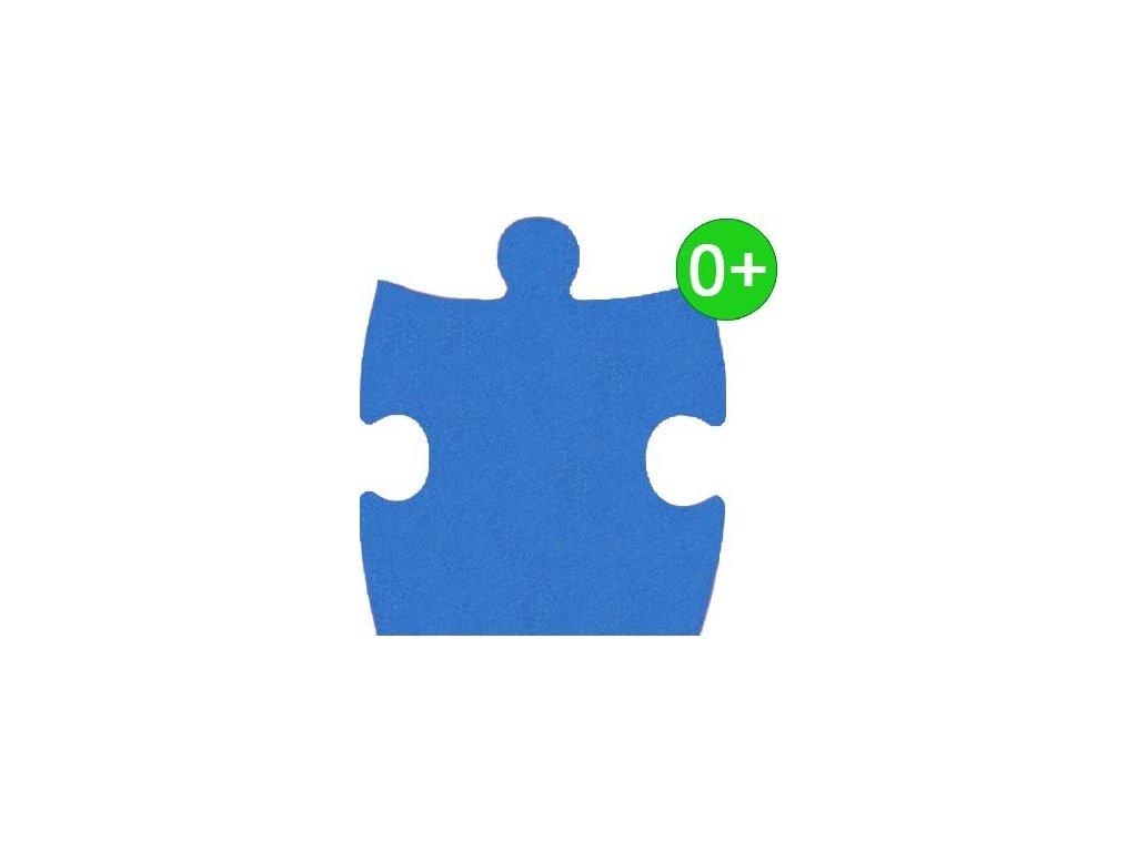MALÝ GÉNIUS Okrajový díl KLASIK A silný 0+ (modrý)