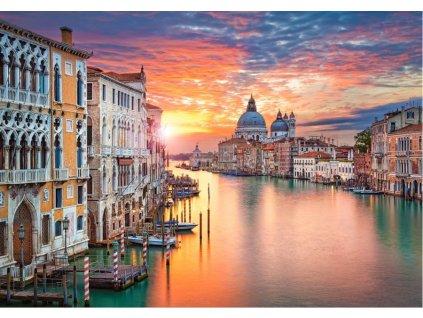CASTORLAND Puzzle Západ slunce v Benátkách 500 dílků