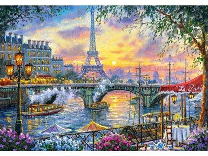 CASTORLAND Puzzle Čas na čaj v Paříži 500 dílků