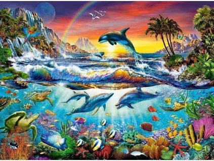 CASTORLAND Puzzle Rajská zátoka 3000 dílků