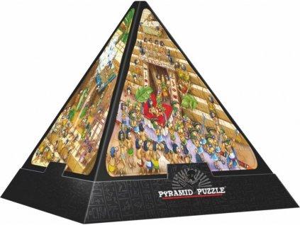 D-TOYS 3D puzzle pyramida Egyptské karikatury 500 dílků