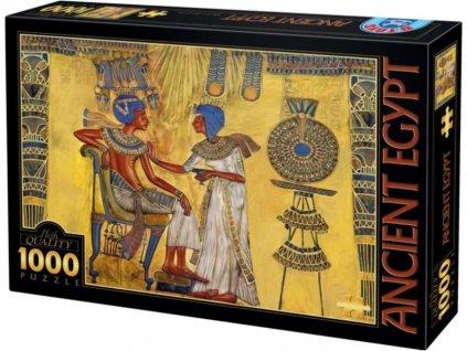 D-TOYS Puzzle Tutanchamonova pohřební maska 1000 dílků