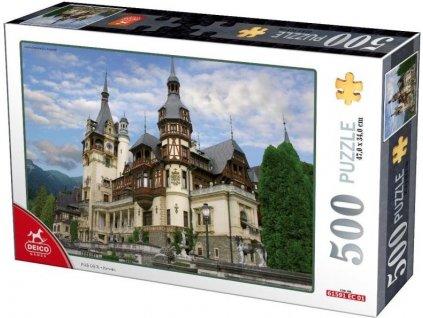 DEICO Puzzle Zámek Peles, Rumunsko 500 dílků
