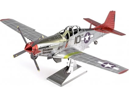 METAL EARTH 3D puzzle Tuskegee Airmen P-51D Mustang (ICONX)
