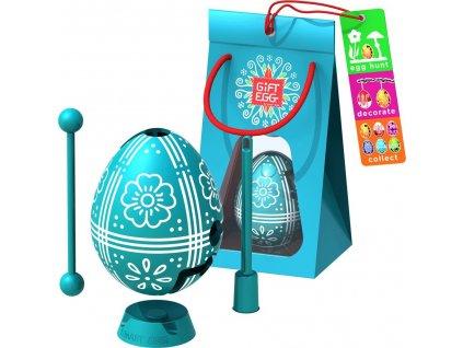 SMART EGG Gift Egg velikonoční tyrkysové (1-vrstvé)