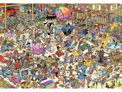 JUMBO Puzzle Hračkářství 1000 dílků