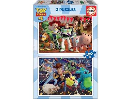 EDUCA Puzzle Toy Story 4, 2x100 dílků