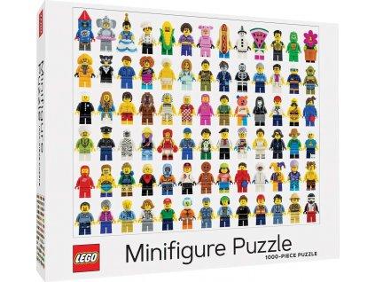 CHRONICLE BOOKS Puzzle LEGO® Minifigurky 1000 dílků