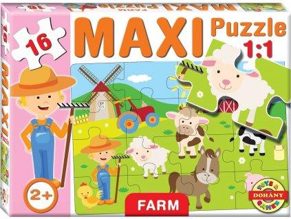 DOHÁNY Puzzle Farma 16 dílků