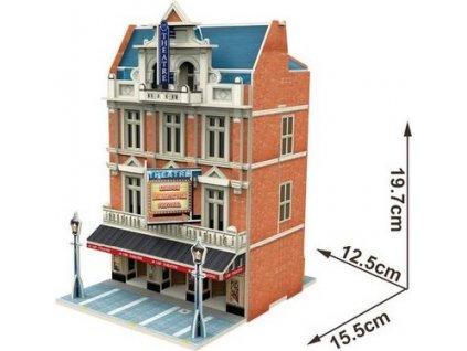 CUBICFUN 3D puzzle Divadlo ve West End 55 dílků