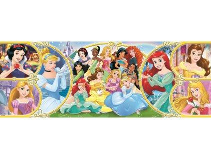 TREFL Panoramatické puzzle Zpět do světa princezen 500 dílků