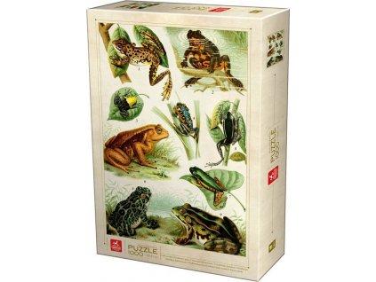 DEICO Puzzle Žáby 1000 dílků