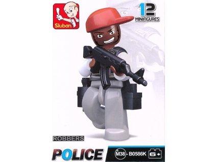 SLUBAN Figurka Zloděj v červené čepici