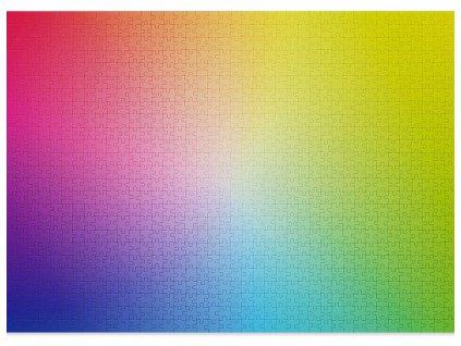 CLOUDBERRIES Puzzle Gradient 1000 dílků