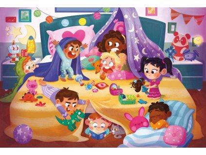CLEMENTONI Puzzle Dobrou noc MAXI 24 dílků