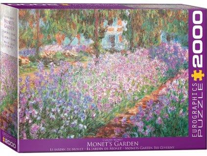 EUROGRAPHICS Puzzle Monetova zahrada 2000 dílků