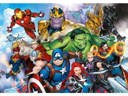 CLEMENTONI Puzzle Marvel: Avengers 104 dílků