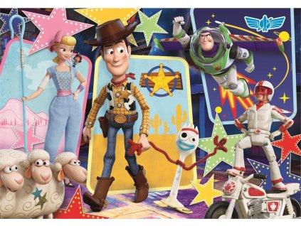 CLEMENTONI Puzzle Toy Story 4: Super parta 104 dílků