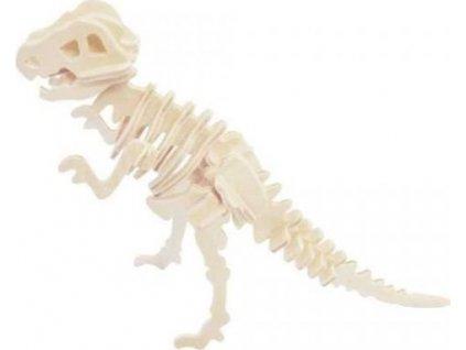 WOODEN TOY , WCK 3D puzzle Tyrannosaurus malý