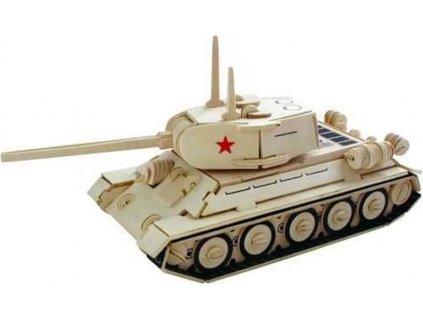 WOODEN TOY , WCK 3D puzzle Tank T-34