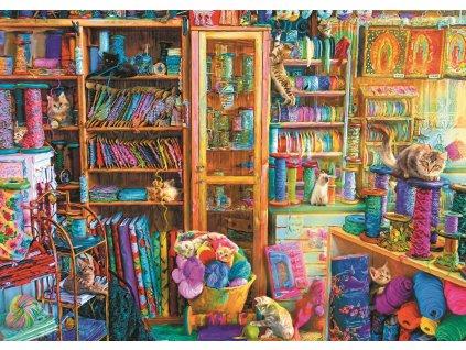 TREFL Puzzle Kočičí ráj 2000 dílků