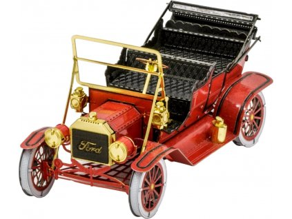 METAL EARTH 3D puzzle Ford model T 1908 (červený)