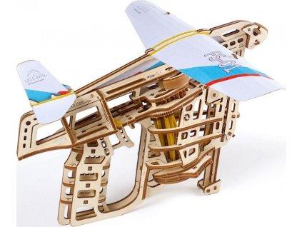 UGEARS 3D puzzle Kluzák se startérem 200 dílků