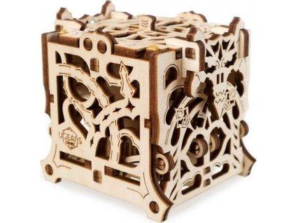 UGEARS 3D puzzle Box na kostky 62 dílků