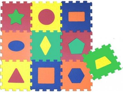 Pěnové puzzle Tvary S4 (30x30)