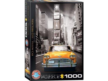 EUROGRAPHICS Puzzle Žlutý taxík v New Yorku 1000 dílků
